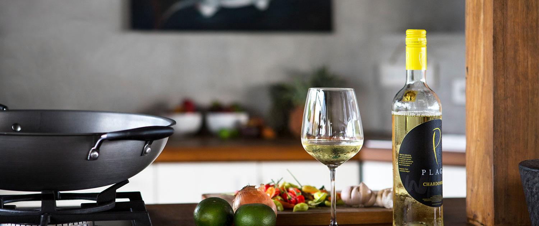 Kitchen and wine