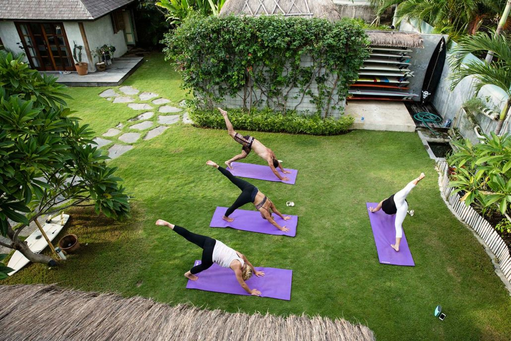 Private yoga classes in bali