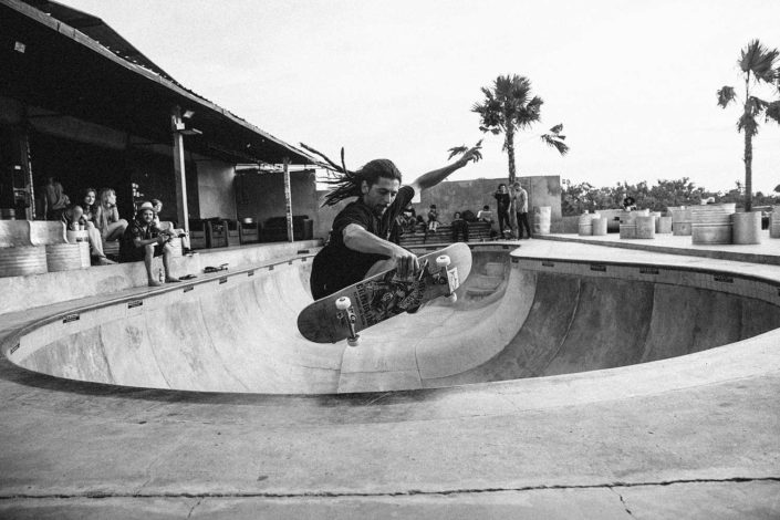 Skate sessions in Bali