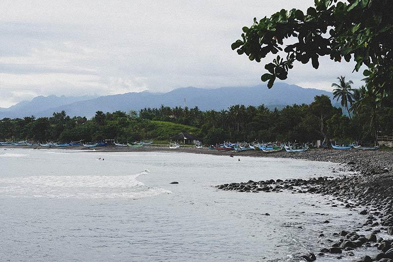 Medewi point beach Bali