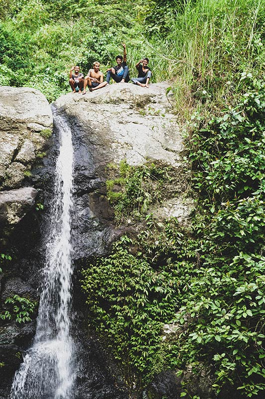 Waterfalls in Bali medewi